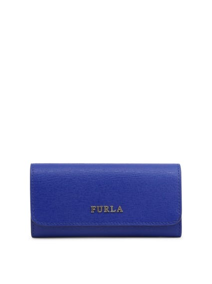Snap Closure Leather Wallet