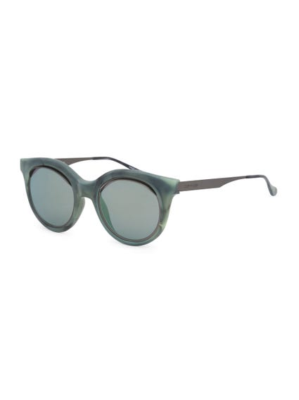 Green Vintage Le Club Sunglasses