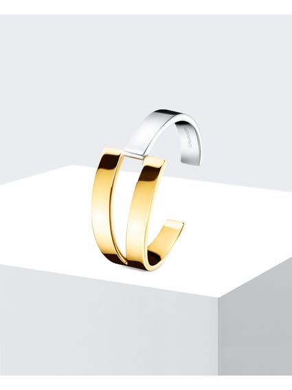 Open Cuff Stainless Steel Bangle