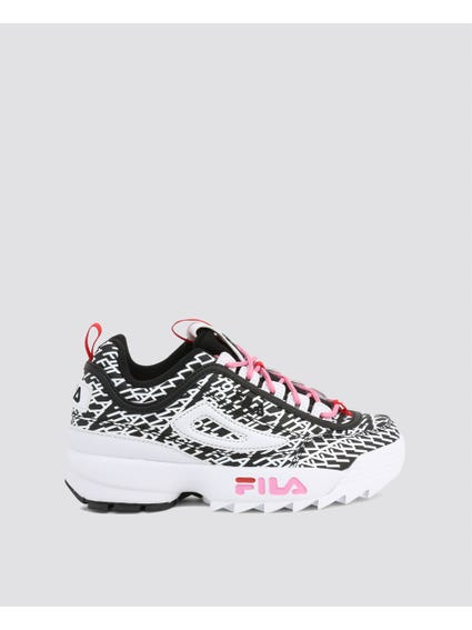 Black Disruptor Club Chaos Sneakers