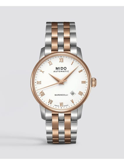 Silver Baroncelli Two Tone Watch