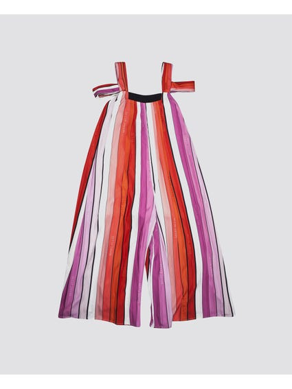 Pleated A-Line Kids Dress