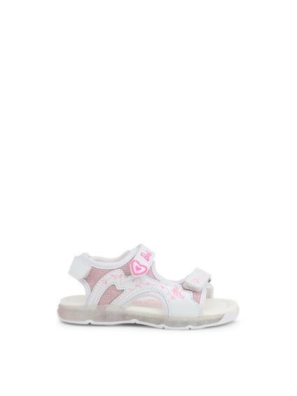 Velcro Strap Printed Kids Sandals