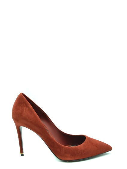 Pointed Toe Suede Pumps