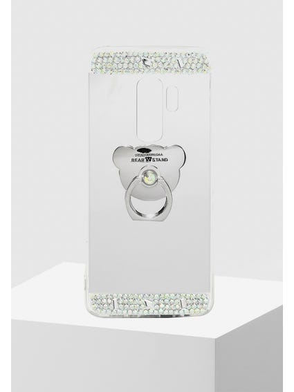 Rose Sequin Embellished Samsung S9+ Cover