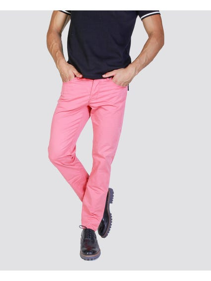 Pink Full Length Trouser