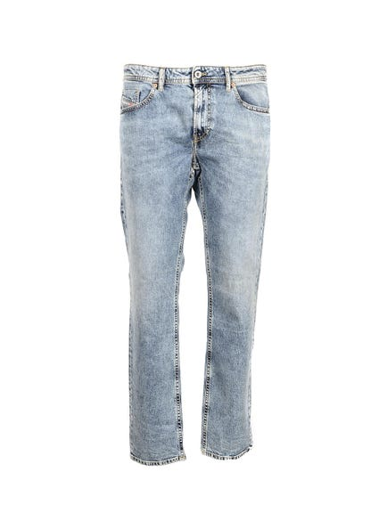 Denim Pocket Button Jeans