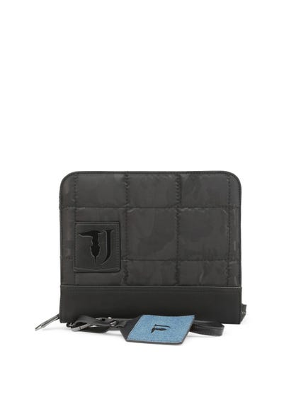 Black Ticinese Small Zip Hand Bag
