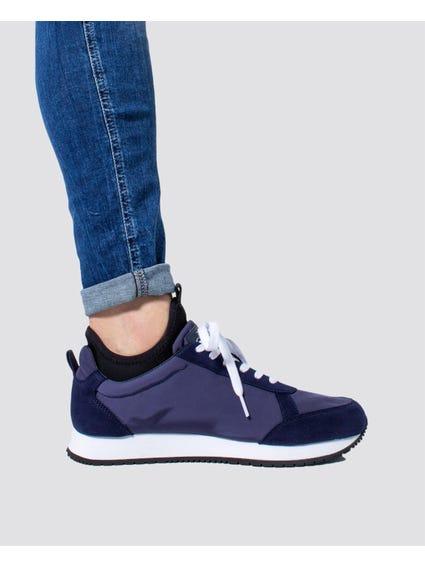 Blue Jemmy Low Top Sneakers