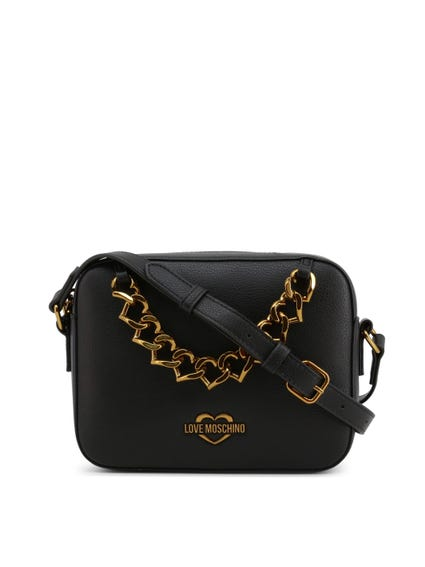 Black Chain Crossbody Bag