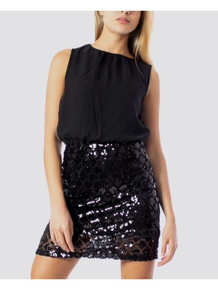 Black Ozark Party Dress