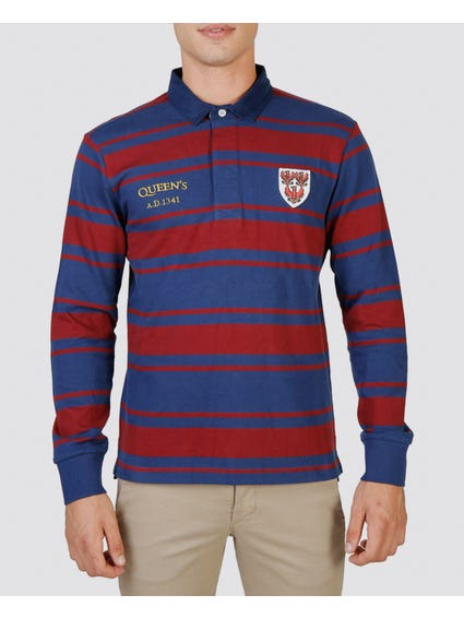 Queens Rugby Polo Shirt
