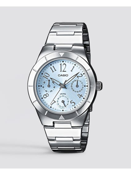Silver Classic Analog Watch