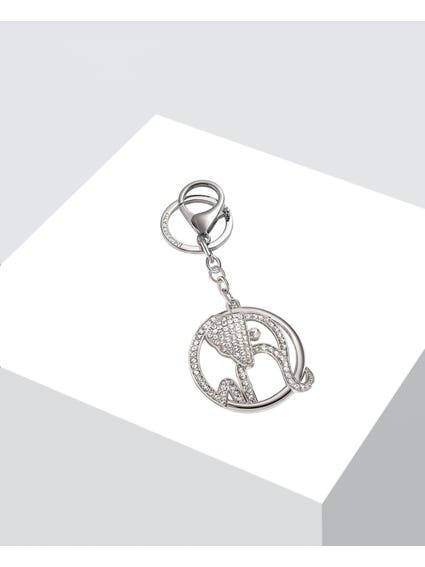 Silver Lucky Keychain