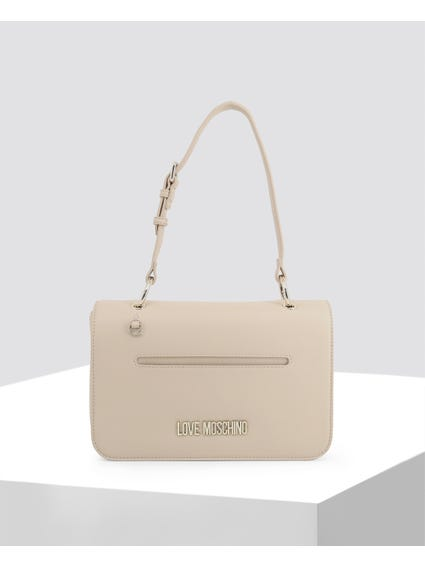 Beige Delicate Leather Bag