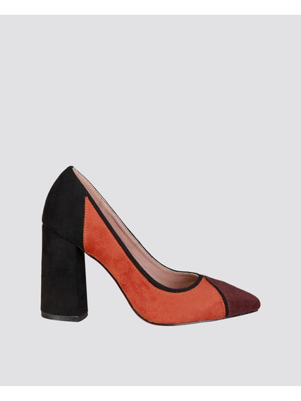 Brown Valeria Pumps