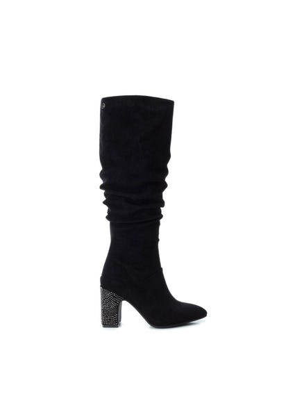 Embellish Block Heel Boots