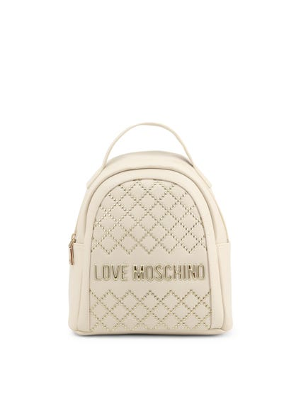 White Studs Back Pack