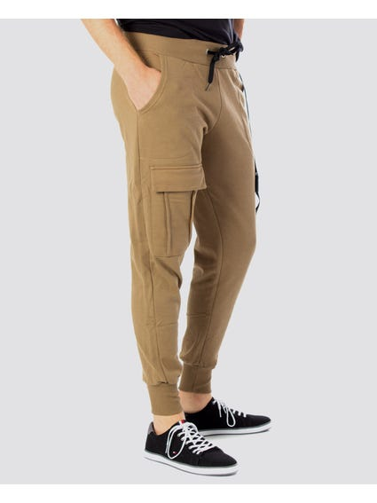 Brown Army Tracksuit