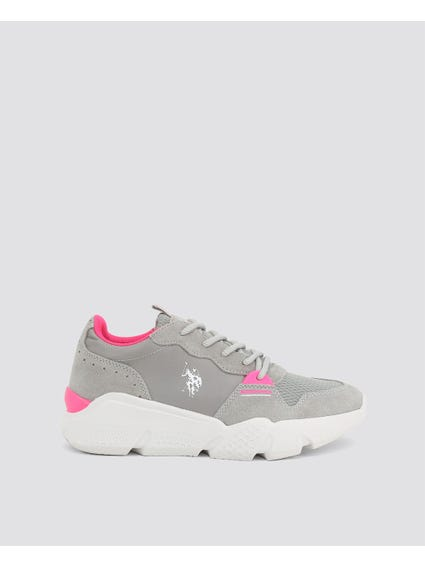 Grey Becky Chunky Sneakers