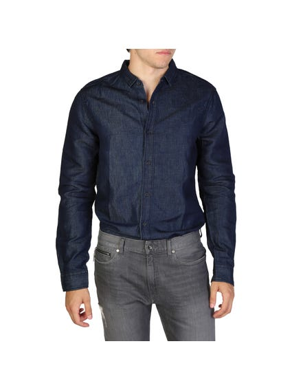 Denim Long Sleeve Button Shirt