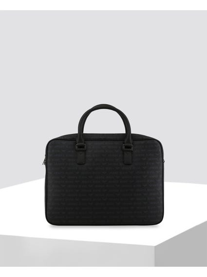 All Over Logo Briefcase