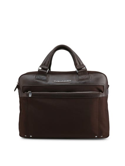 Brown Double Handle Briefcase