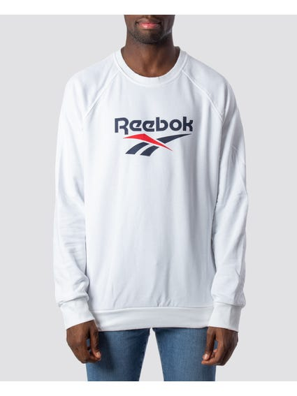 Graphic Crew Neck Long Sleeves Sweatshirt