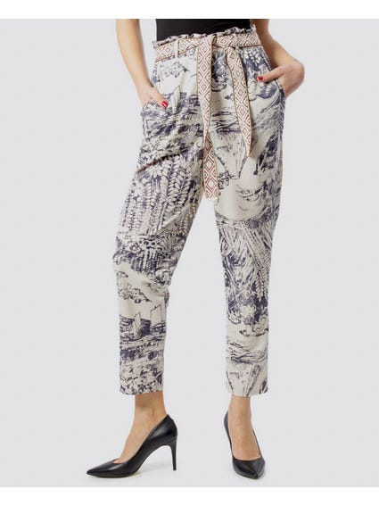 Japanese Ankle Grazer Trousers