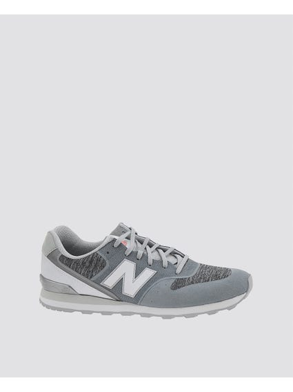 Grey Noa Low-Top Running Shoes