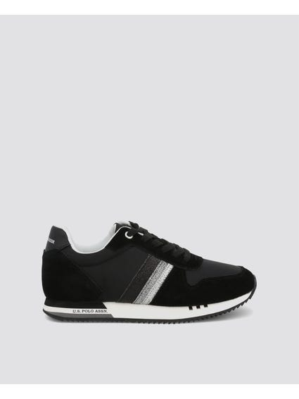Black Cora Low Top Sneakers