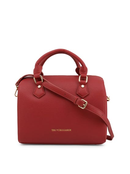 Red Firebrick Removable Shoulder Strap Handbag