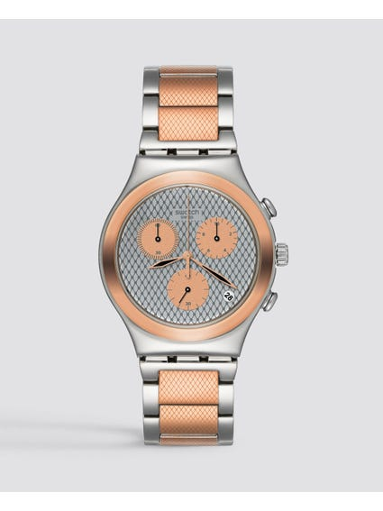 Silver Grill Chill Chronograph Watch