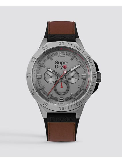 Stainless Steel Case Analog Watch