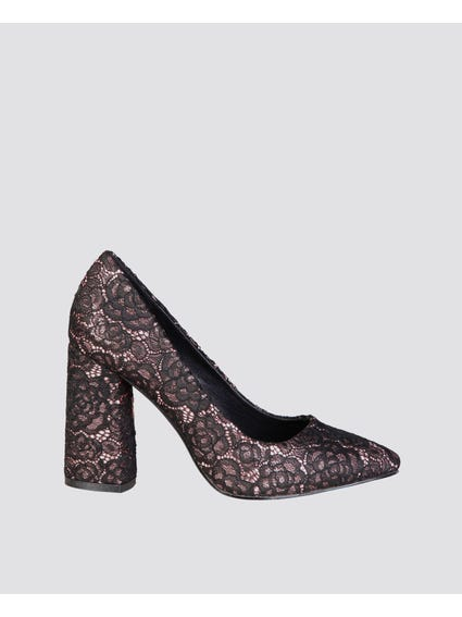 Allure Lace Pumps