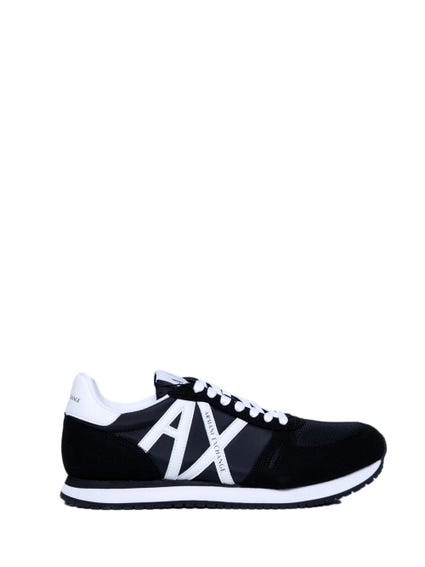 Black Lace Up Mesh Sneakers