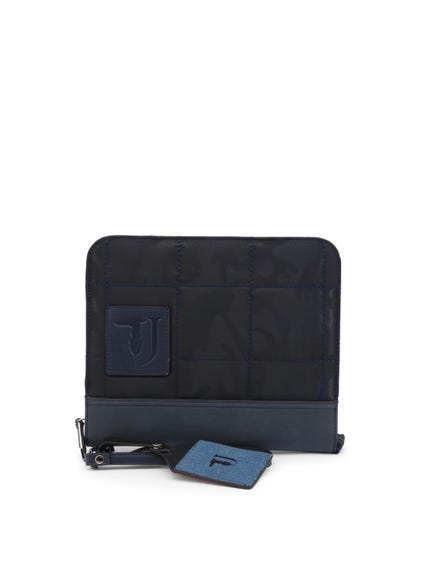 Dark Blue Small Plain Handbag