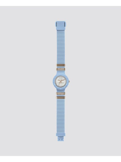 Blue Tres Chic Analog Watch