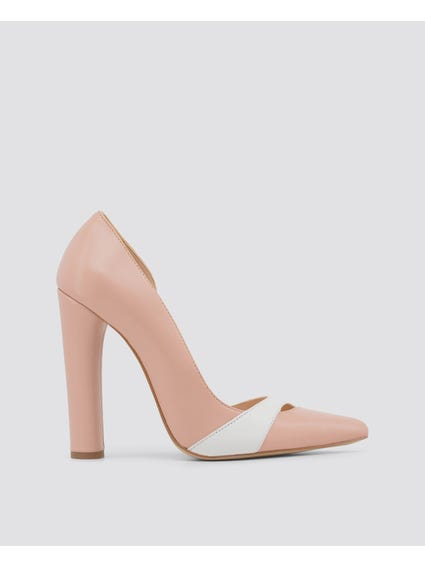 Rosa Minuetto Leather Pumps