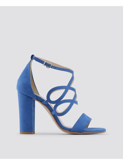 Blue Carina Sandals