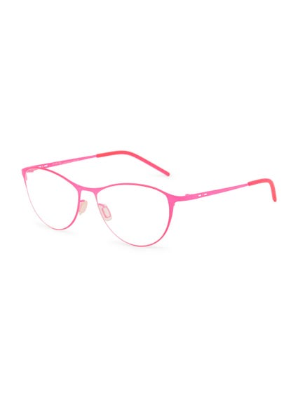 Pink Slim Nose Bridge Wayfarer Eyeglass