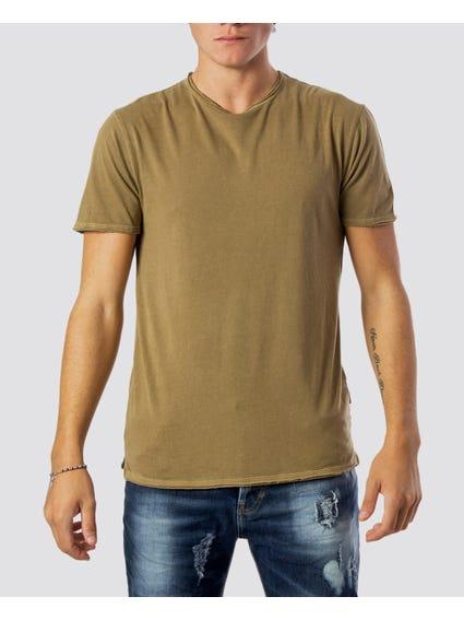 Albert Washed Crew Neck T-Shirt