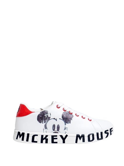 Printed Mickey Mouse Sneakers