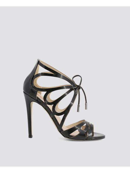 Metal Tips Ankle Strap Sandals