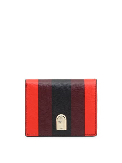 Red Small Leather Wallet