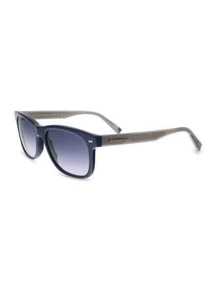 Blue Leo Shaded Sunglasses