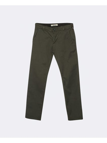 Grey Basic Plain Kids Trousers