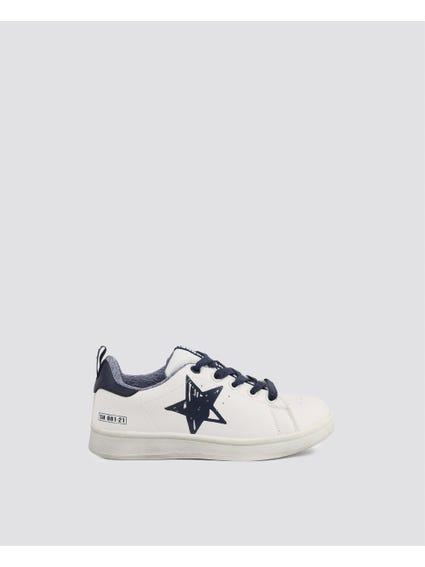 White Star Kid Sneakers