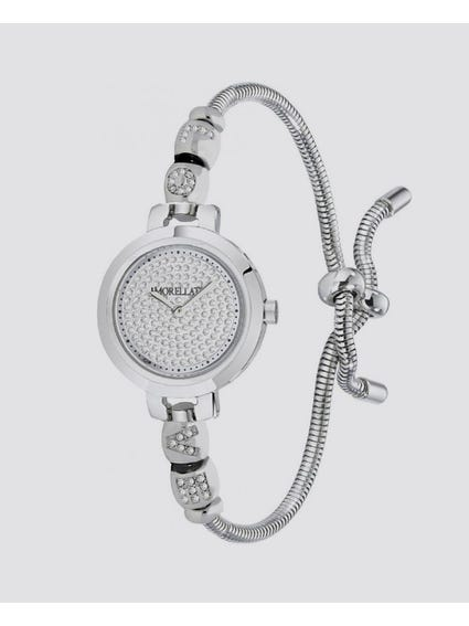 Silver Dial Analog Bracelet Watch