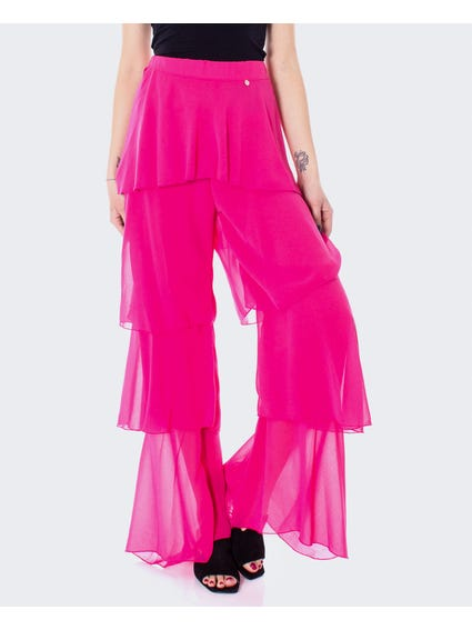 Ruffle Elasticated Waist Trouser